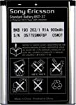 Sony Ericsson BST-37/ DPY901526/ BKB19320311 battery, Black, Standard capacity Lithium-Polymer battery is the factory original battery designed & built specifically for the Sony Ericsson J220/ J300/ J300c/ J300i/ K750/ K750i/ W350/ W600/ W600c/ W...