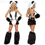 Jumpsuit Tier Fasching Halloween Kostüm Eisbär Mädchen Cosplay Damen Einheitsgröße -