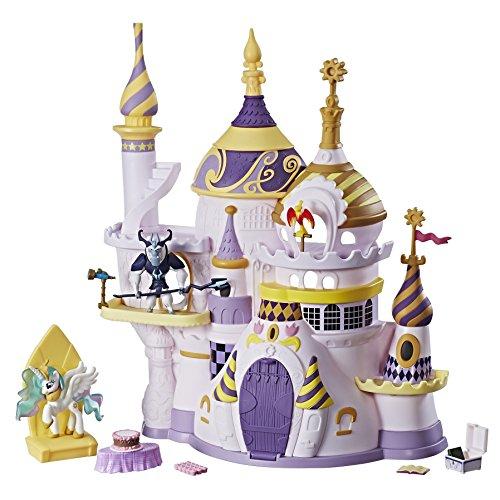 Hasbro My Little Pony C0686EU4 - Freundschaft ist Magie Schloss Canterlot, Spielset