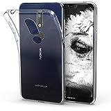 kwmobile Nokia 7.1 (2018) Hülle - Handyhülle für Nokia 7.1 (2018) - Handy Case in Transparent
