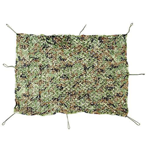 ACZZ Plane Woodland Camouflage Netting, Outdoor Dschungel Sonnenschutz Dekoration Camo Netting für Jagd Blind Camping Thema Party Dekoration ausblenden,3M × 8M