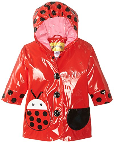 Kidorable-Little-Girls-Ladybug-PU-Raincoat