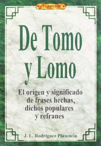 de Tomo y Lomo por J. Rodriguez Plasencia