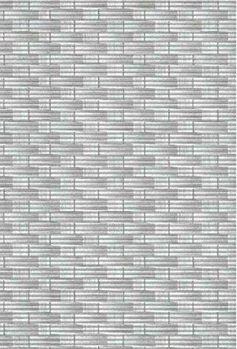 Bodenbelag Sympa Nova Premium Weichschaum Badematte Matte Rattan grau 130 breit Meterware