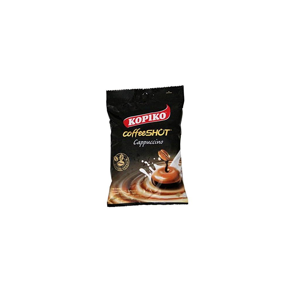 6er Pack Kopiko Cappuccino Kaffee Bonbons 6x 150g Coffee Candy