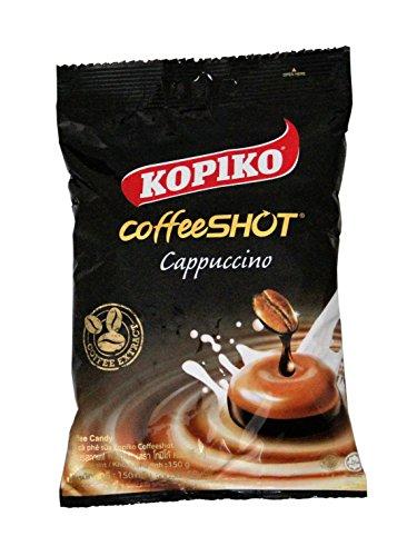 6er Pack KOPIKO Cappuccino Kaffee Bonbons [6x 150g] Coffee Candy