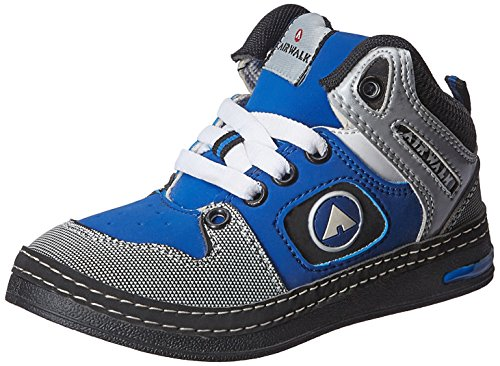 Airwalk Boy's Sneaker Shoe Black Synthetic Sneakers - 12C UK/31 EU