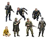 Metal Gear Solid V Figuras Plastic Model Kit 1/35 Metal Gear Solid Ground Zero Set 5 cm