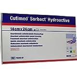 Cutimed Sorbact Hydroactive Kompressen 14x24 cm, 10 St