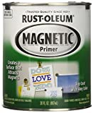 #1: Rust-Oleum 247596 Specialty Magnetic Primer Paint (Black - 887 ML)