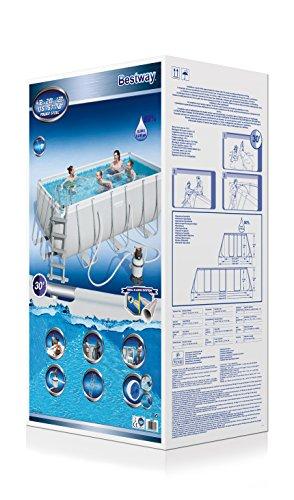 Bestway pool 412 x 201 x 122 schnaeppchen center - Bestway pool mit sandfilteranlage ...
