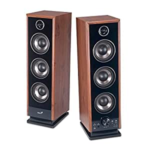 Genius SP-HF2020 Black Enceintes PC/Stations MP3 RMS 30 W