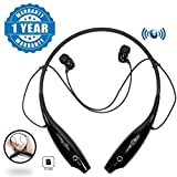 #9: Captcha KBP 730T Plus Bluetooth Neckband Earbud Headset with TF Card Slot Compatible with Xiaomi, Lenovo, Apple, Samsung, Sony, Oppo, Gionee, Vivo Smartphones (One Year Warranty)