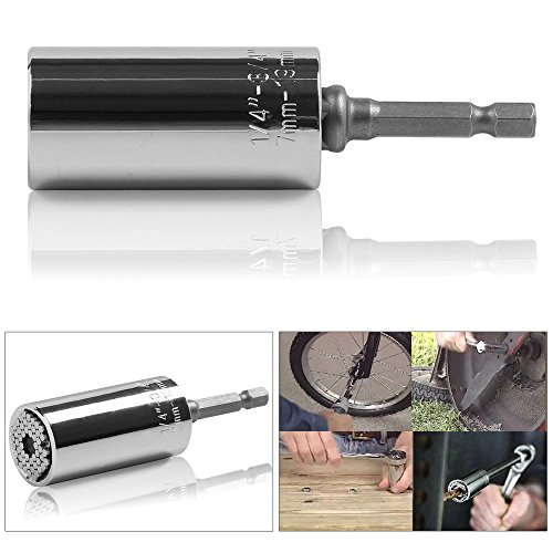 gator-grip-style-socket-adapter-and-power-drill-adapter-tool-universal-7-19mm-sliver-can-be-disassem