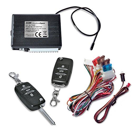 Preisvergleich Produktbild JOM 7105 Keyless Open, Funkfernbedienung für vorhandene Original-Zentralverriegelung, universal, mit 2 Klappschlüssel