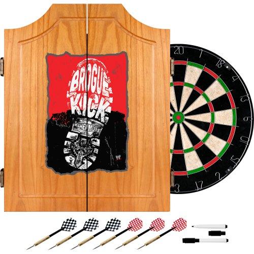 Trademark Gameroom WWE Sheamus Holz Dart-Schrank-Set - Holz-entertainment-schrank