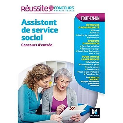 Réussite Concours Assistant de service social - Concours d'entrée - Nº43