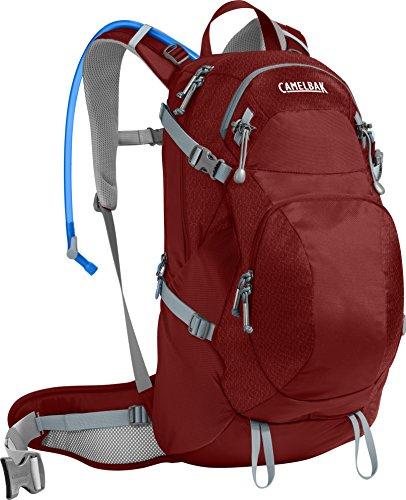 CAMELBAK Products LLC Damen Sequoia 22 Hydration Pack Trinkrucksack, Red Dhalia/Stone Blue, 100 oz -