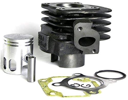 Preisvergleich Produktbild Zylinder Kit CPI Motoren AC liegend 50ccm EURO2, 12mm Kolbenbolzen, Adly Air Tech, Benelli 49Q, CPI Aragon, Freaky, Hussar, Generic, Malaguti 50