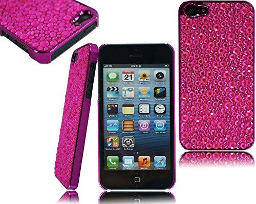 neuen, stilvollen Chrom Seite Bling Back Case Schutzhülle für Apple I Phone 6Plus 5,5 rose
