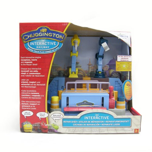 Image of Learning Curve Chuggington Interactive Repair Shed