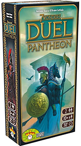 Asterion 8037 - 7 Wonders Duel Pantheon, edición Italiana