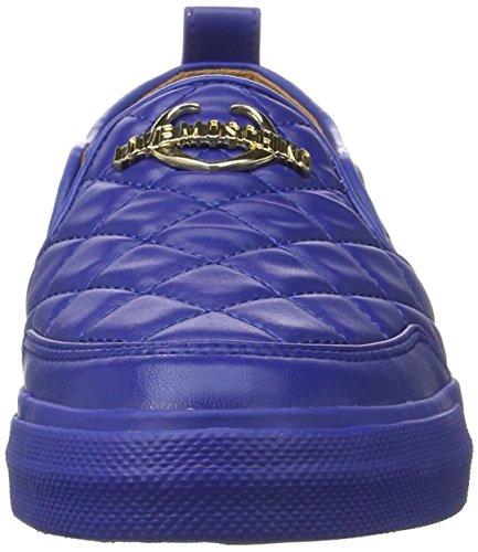 Love Moschino Ladies W.sneakers Slipper Blau (bluette)