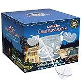 IC Original Christmas Vacation Moose Mug Elchglas Bowle Schüssel aus Glas 3,8 Liter mit Schöpflöffel Schöne Bescherung Griswold Family Weihnachts Hammer in Fotobox