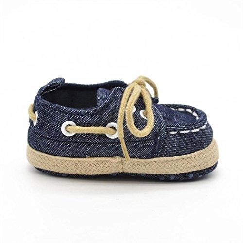 Baby Schuhe, Moonuy Sole Sneaker Kleinkind Schuhe Dunkelblau
