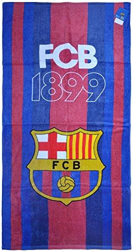 100% Offizielles Lizenzprodukt FC Barcelona Strand-Badetücher Gym Swim Messi Suarez Neymar Design 5 - Barcelona Mütze Fc Messi Offizielle