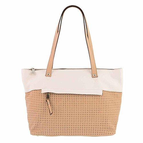 Stile borsa di pelle cestino