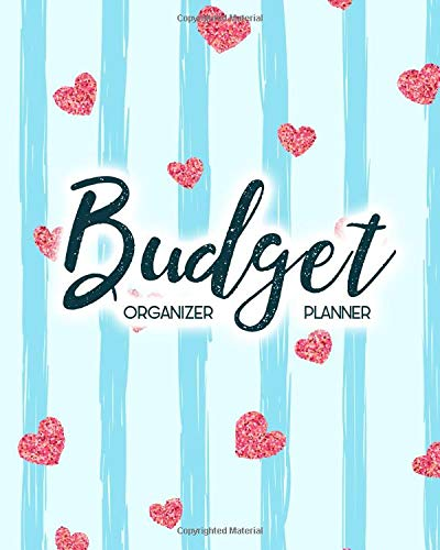 Budget Planner Organizer: Pink Mini Heart 12 Month Budget Planner Journal Notebook Finance Planner, Money Organizer, Debt Tracker por Maggie C. Harrington