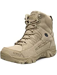 MHSXN Botas De Táctica De Alpinismo Para Hombre Botas Botas Militares De Ejército Armada Al Aire Libre Jungle Mountaineering Sports Shoes