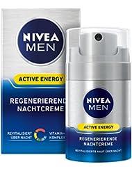 Nivea Men Active Energy Regenerierende Nachtcreme, 1er Pack (1 x 50 ml)
