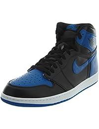 size 40 6d0a8 c1452 Nike Herren Air Jordan 1 Retro High OG Fitnessschuhe, weiß, ...