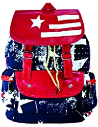 Surpriam Red Union Jack Dark Blue Backpack