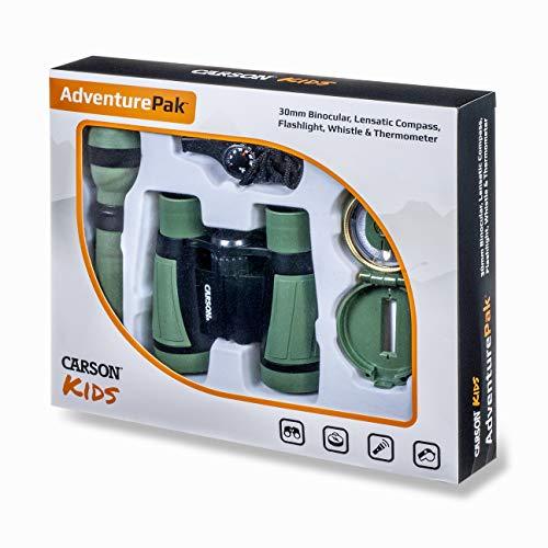 Oferta de Carson AdventurePak Prismáticos 30mm y Accesorios para Actividades al Aire Libre