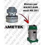 MX 59I Motor ametek de aspiración para aspiradora y te Maxiclean