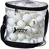 6 st/ücke tischtennisb/älle 40 2,8g abs Nahtlose Kunststoff Poly ping Pong Ball f/ür professionelle Tischtennis Club Training und Wettbewerb Hook.s