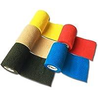 LisaCare Fixierbinde 7,5cmx4,5m | 5er-Set verschiedene Farben | Kohäsive Bandage | Wundverband | Pflasterverband... preisvergleich bei billige-tabletten.eu