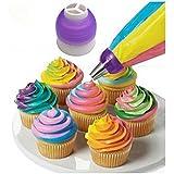 Cosanter Creative Icing Piping Bag Pastel Pastelería Pastelera Convertidor Acoplador Pastel de Decoración Herramienta-MEJOR OPCIÓN para hacer pasteles