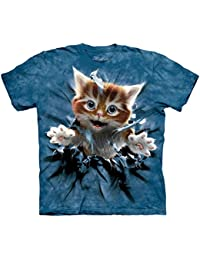 The Mountain Unisexe Enfant Percée De Chaton Roux T Shirt