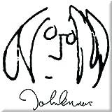 John Lennon Self Portrait Metal Steel Fridge Magnet Black White Album Official