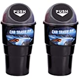 Lifestyle-You™ 2 Pcs Novelty Car Home Office Mini Trash / Garbage / Dust Bin / Car Accessory / Car Accessories