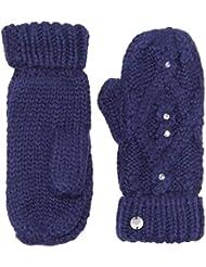 Roxy Mittens, invierno, mujer, color Azul - azul, tamaño Talla única