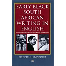 Early Black South African Writing in English