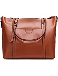 aae6a465f46f GAVERIL 2018 NEW Ladies Women s Cow Split Leather Tote Bag Handbag Shoulder  Bags