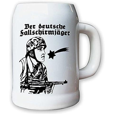 Vaso/boccale da birra 0, 5L - tedesca caso l'ombrellone cacciatore esercito soidato WK 2# 10112 K
