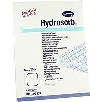 HYDROSORB Wundverband 5x7,5 cm 5 St Kompressen preisvergleich bei billige-tabletten.eu