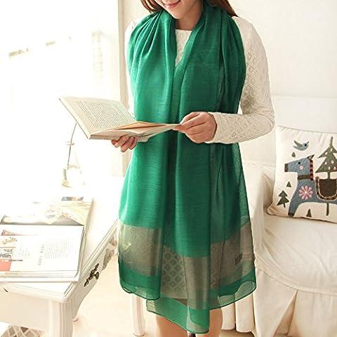 Autunno Inverno Womens Fashion eleganza Super Morbida sciarpa scialle Europa Street Style(cotone/lana/filo/seta)W-1604